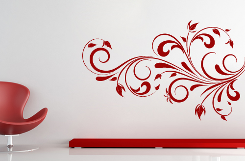 Bold Design Wall Decals : Floral designs wall decals by casadart on deviantart