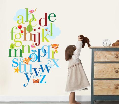 Alphabet Wall Decals Stickers By CasadArt ...