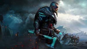 Assassin's Creed Valhalla Wallpaper remake