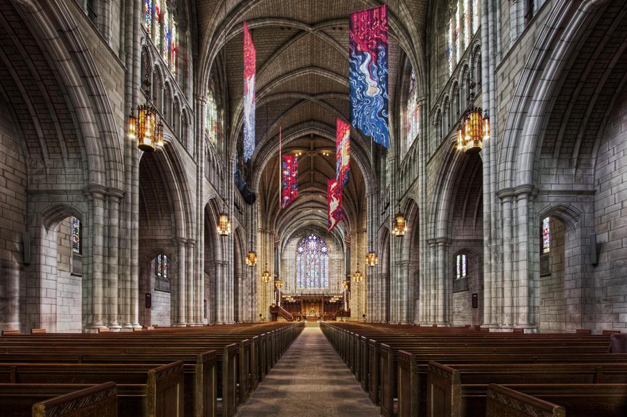 Princeton University Chapel by linkahwai