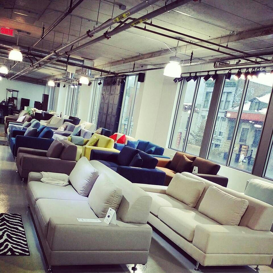 Exceptional Newell Furniture Store Showroom In Montreal Quebec By Newellfurniture ...