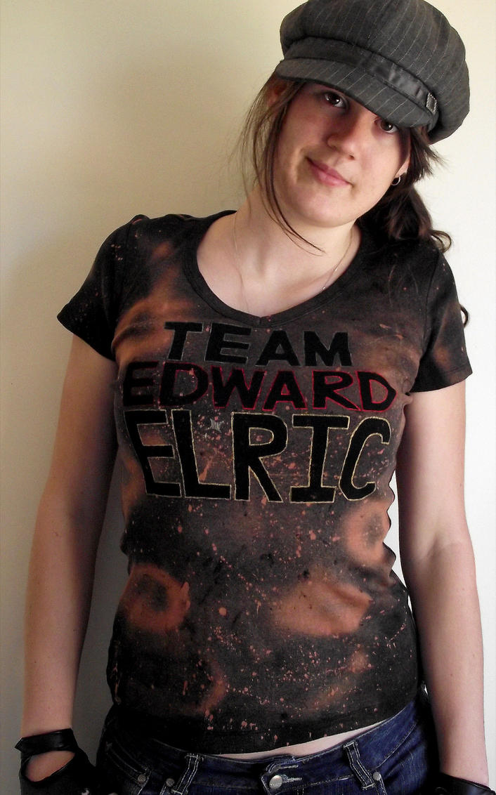 Team Edward Elric shirt-front 1 by Kiku-Goldenflower