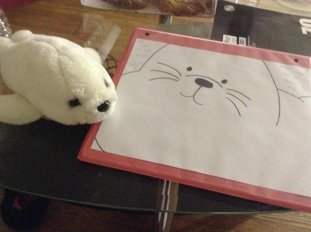 We Bare Bears - Seal by FoxKatFerret