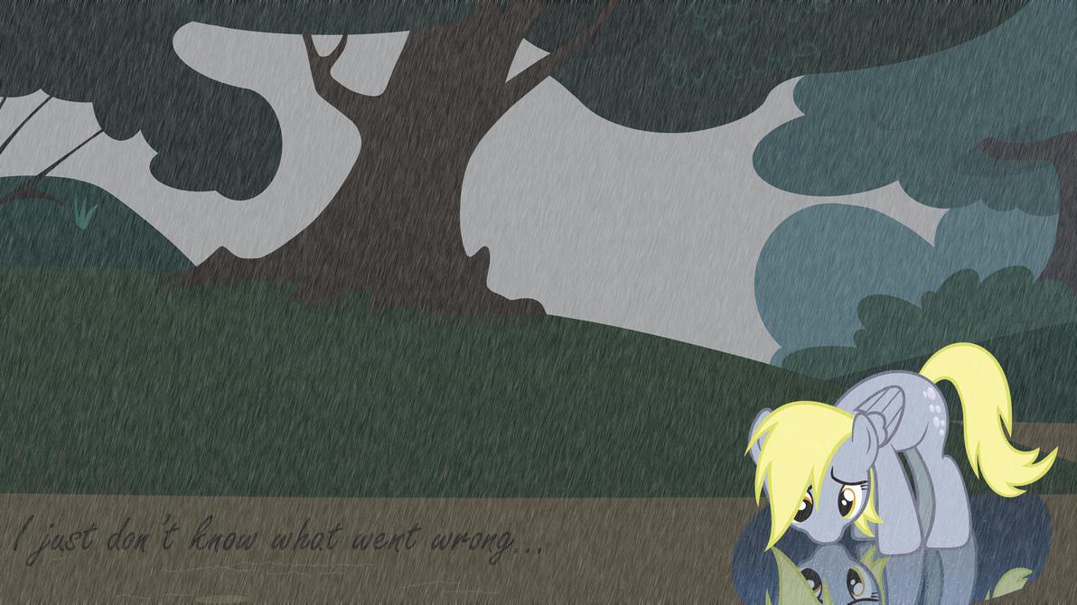 Sad Derpy by Kigaroth