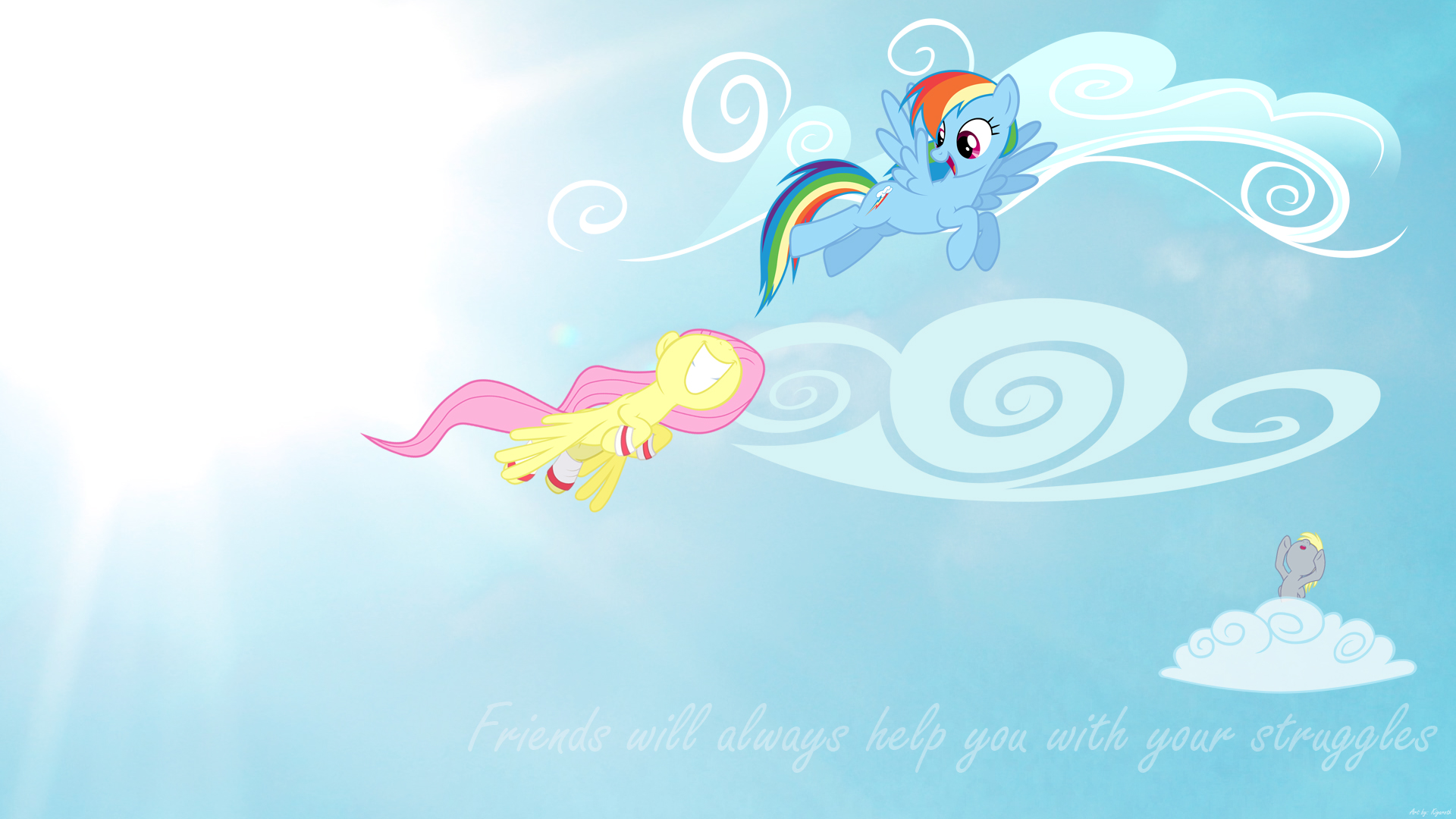 Friends Wallpaper by Kigaroth