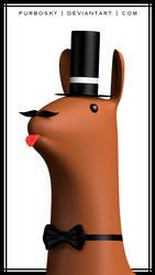 Sir Llama by purbosky