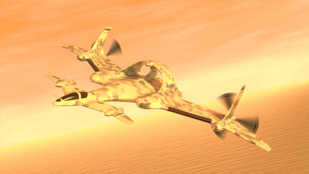 Maiden Flight by purbosky