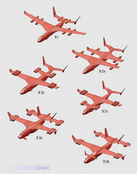 Transport Aircraft Concepts by purbosky
