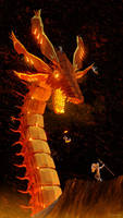 Iron Dragon by purbosky