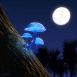 Ghost Mushroom