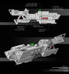 Royaltri Gun Concept (WIP)