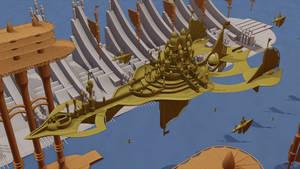 Castle Ship (WIP #2)
