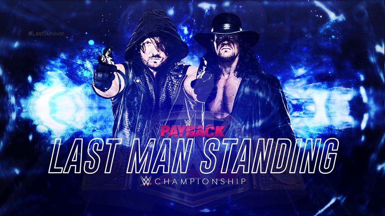 Custom Payback AJ Styles vs Undertaker by LastSurvivorY2J