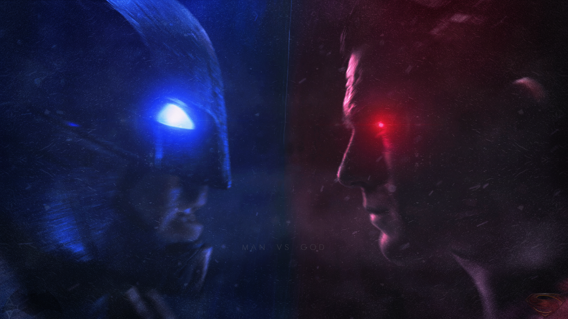 Batman v Superman Wallpaper. by LastSurvivorY2J