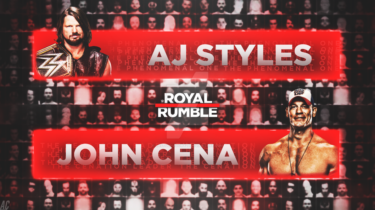 Royal Rumble 2017. by LastSurvivorY2J