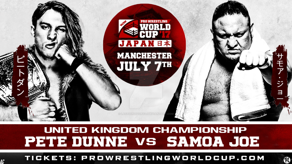 WCPW Pro Wrestling World Cup 17' Remake. by LastSurvivorY2J