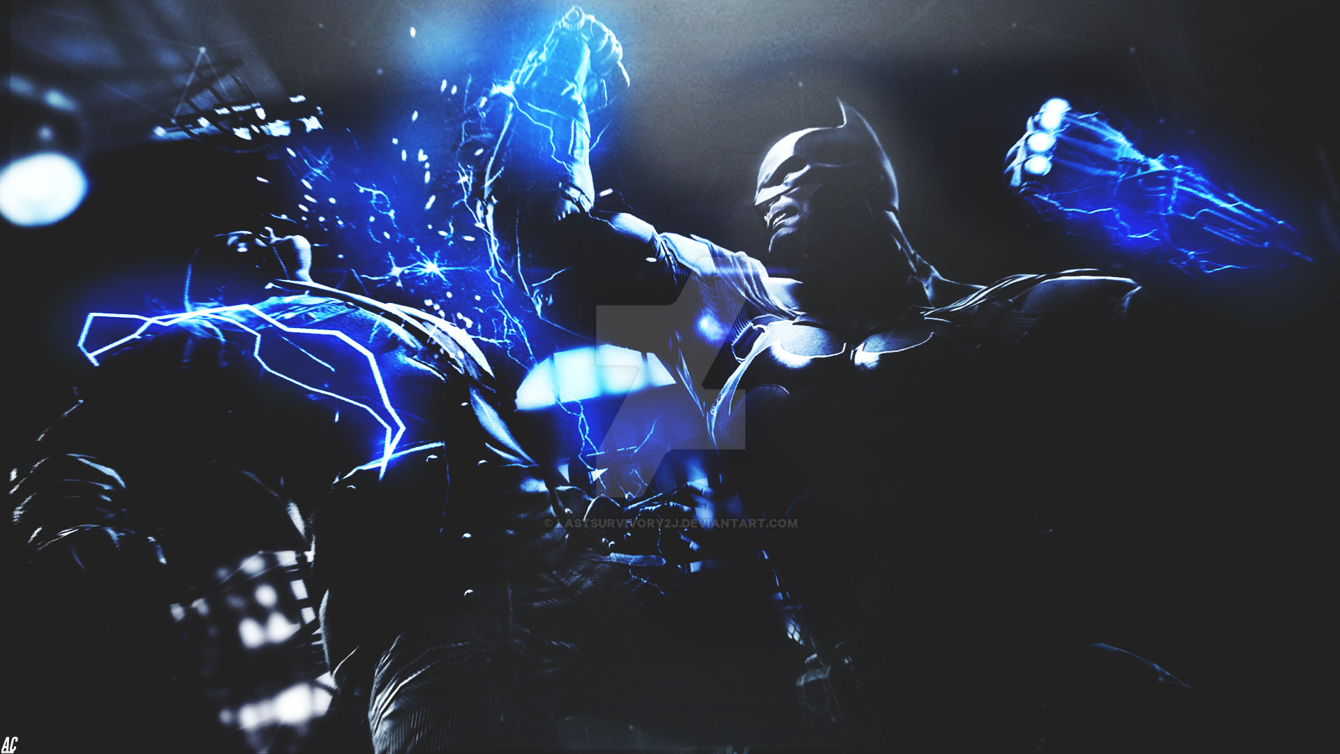 Batman Arkham Origins retouch. by LastSurvivorY2J
