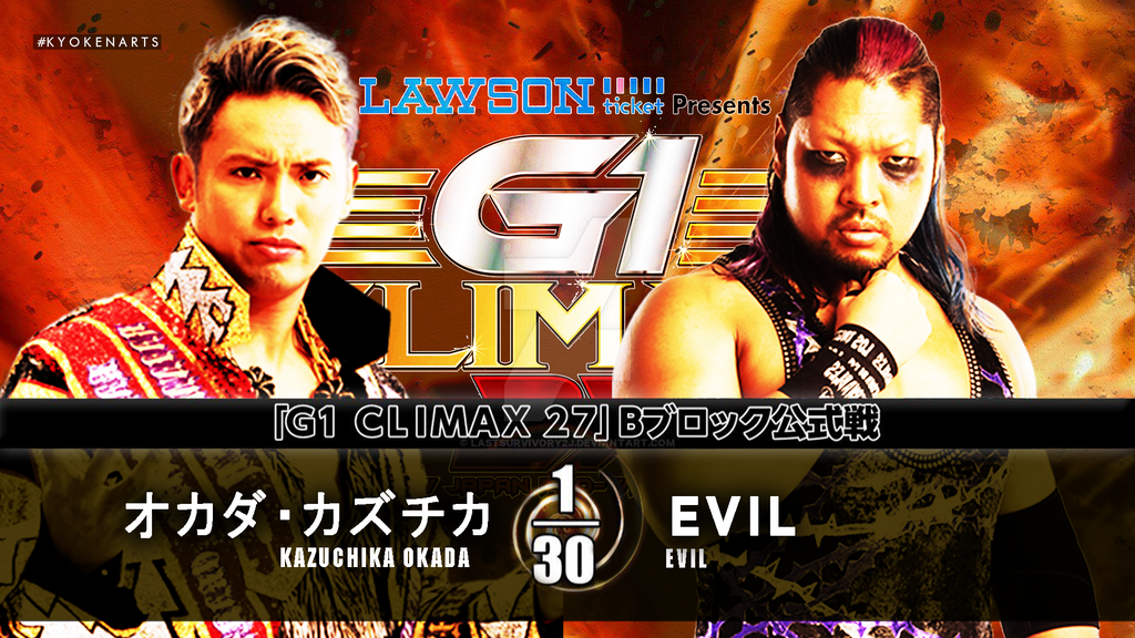 G1 Climax 27 MC Remake. by LastSurvivorY2J