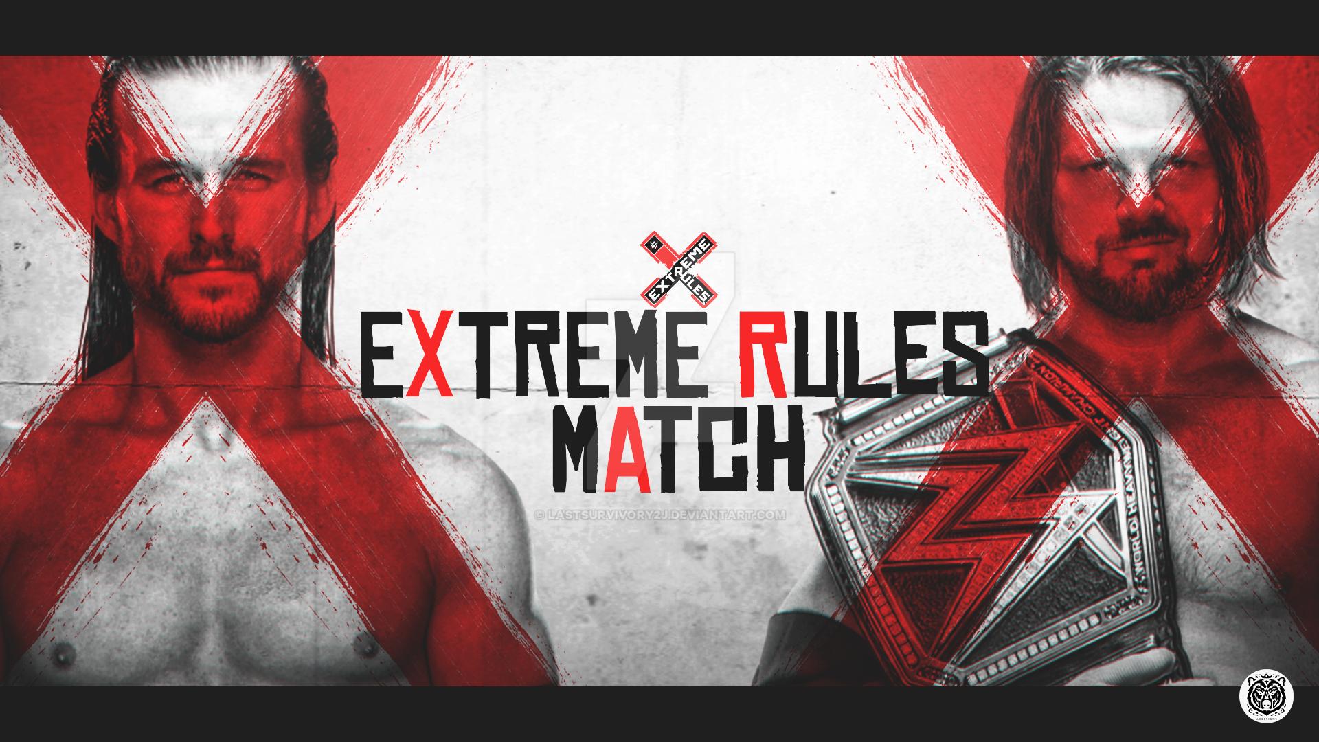 Extreme Rules IV by LastSurvivorY2J