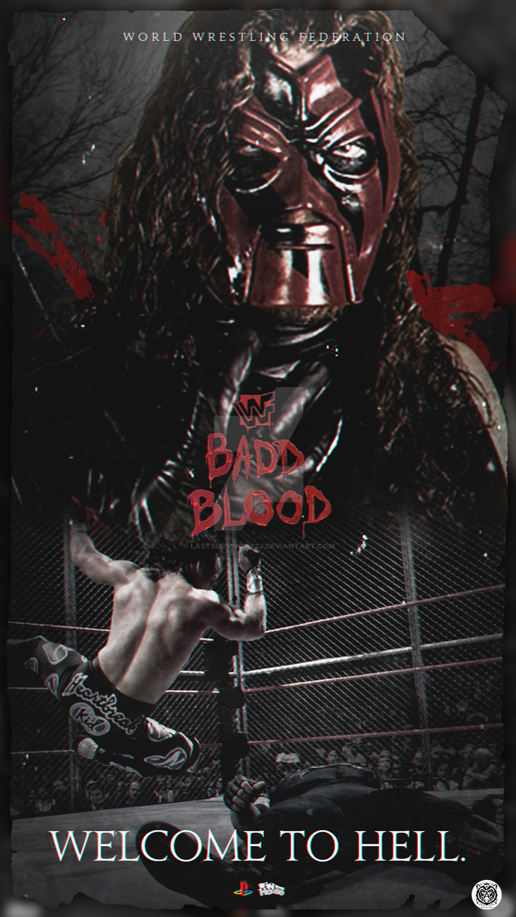 Bad Blood Custom Poster by LastSurvivorY2J