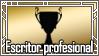 Logro de Oro: Escritor profesional by Daeshagoddess