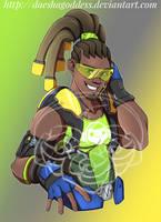 Lucio from Overwatch by Daeshagoddess