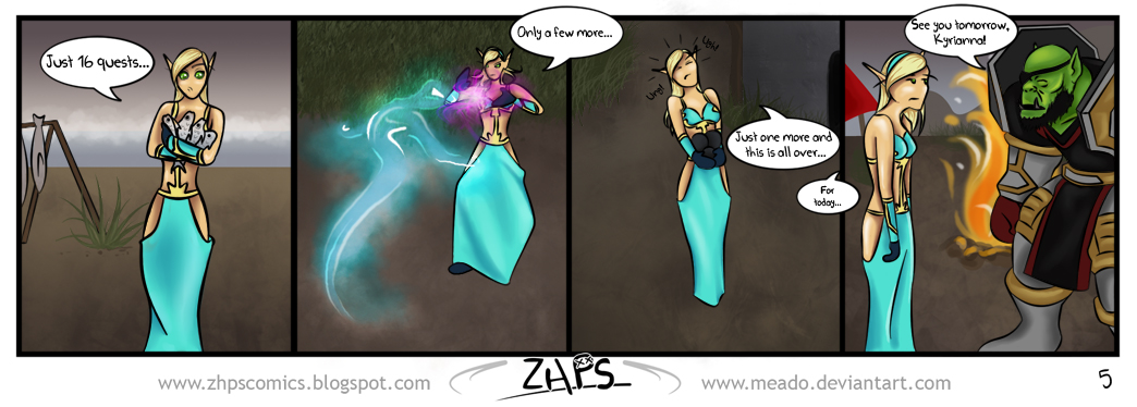 ZHPS- Daily Grind by ImRachelBradley