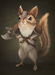 Chipmunk Barbarian