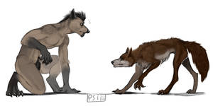 omg it's a hairless werewolf !