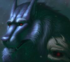 Red eyes by Noxyfer