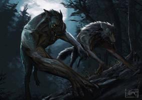 Hunting night by Noxyfer