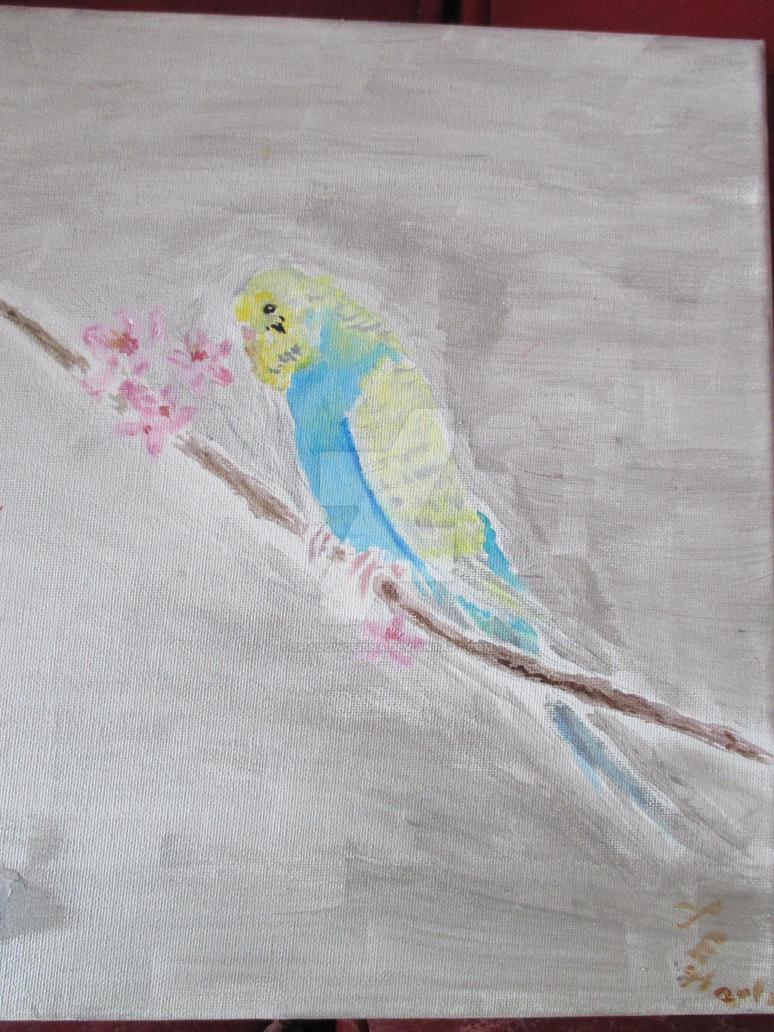 Natsu viewing Cherry Blossoms by shadowgeisha