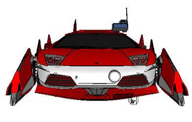 Grav Lambo Ferrari hybrid Front by victiousvision