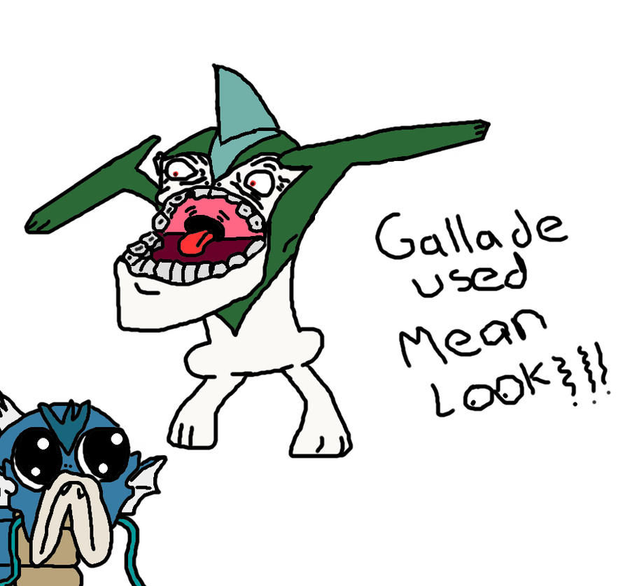 Gallame is so swag Gallade_used_mean_look_by_lyar0-d4b816n