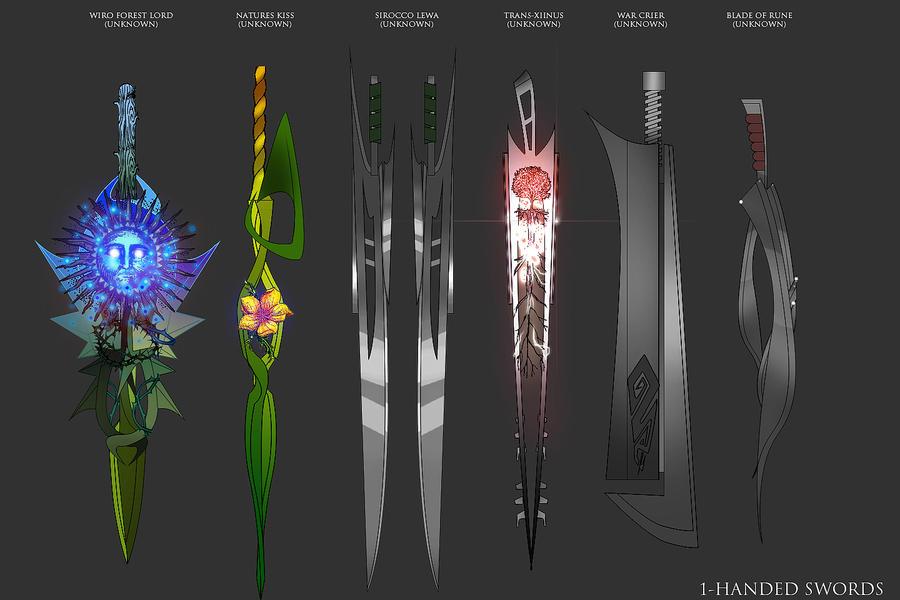SwordSet05 by D1rtaH