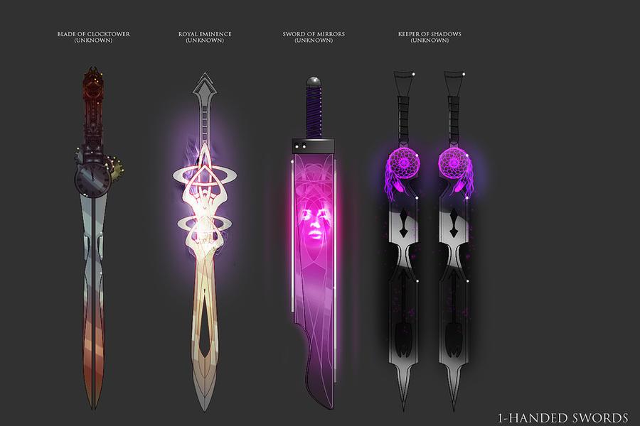 SwordSet10 by D1rtaH