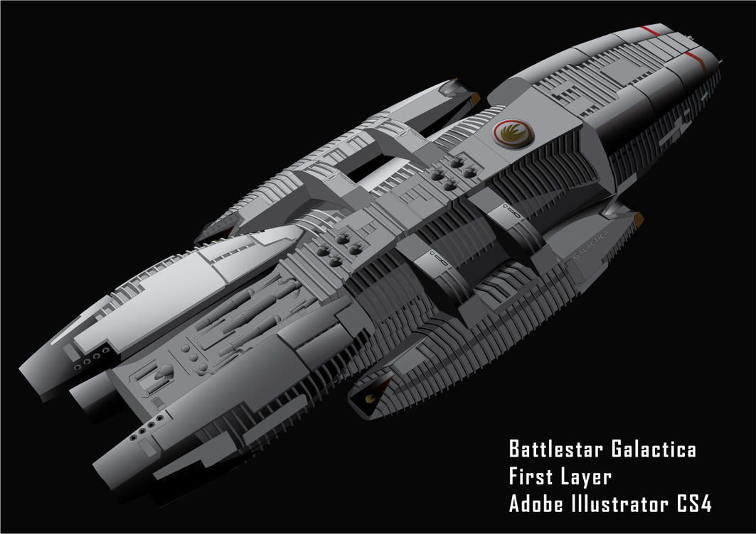 Birth of a Battlestar 2 by GDifranco