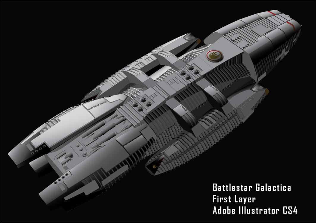 Birth of a Battlestar 2 by GDifranco