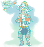 FFXII Vaan and Panelo by reikocchi