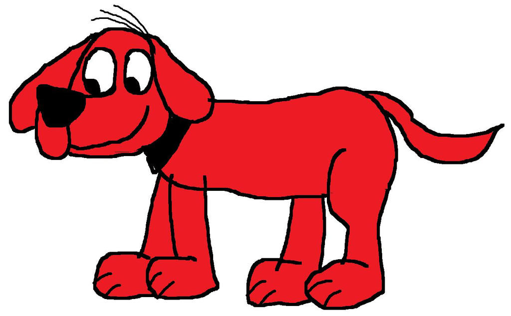 how to draw clifford the big red dog