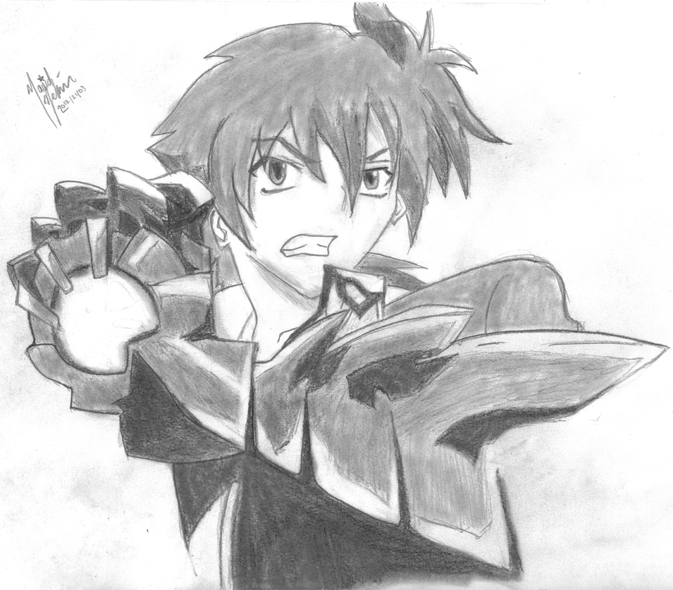 Hyoudou Issei - Highschool DXD - Sketch by Roguecookie