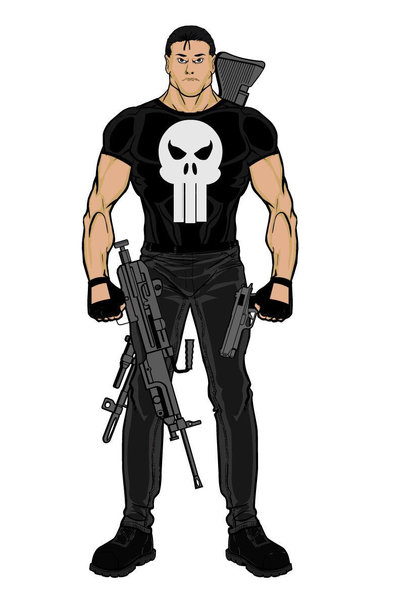 The Punisher By Williamzimmermann On Deviantart