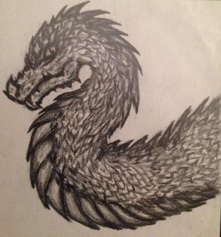Dragon by GryllidaeJ