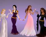 Heroes of olympus - girls + Renya
