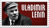 Lenin Stamp by Avt-Cccp