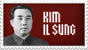 Il-Sung Stamp by Avt-Cccp