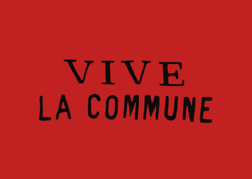 Vive La Commune Flag