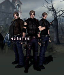 Leon Kennedy REMADE RE4 Model Download by psychicsocial