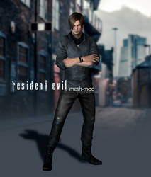 Leon Kennedy Urban Casual Mesh-mod Download by psychicsocial