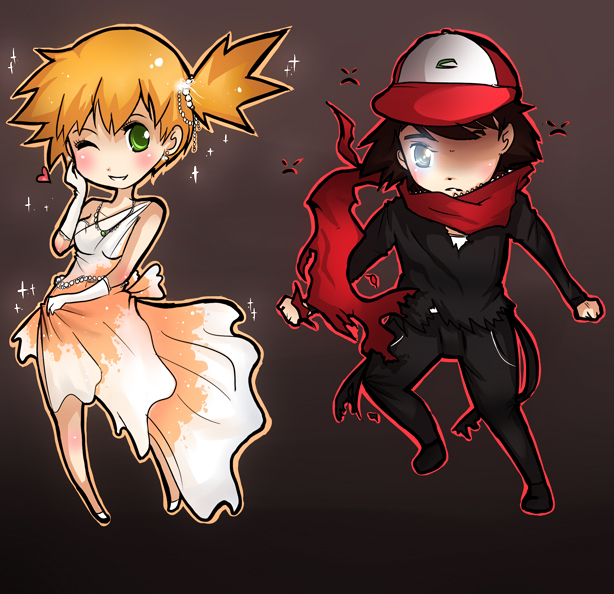 Pokemon Gijinka by DarienDoodles